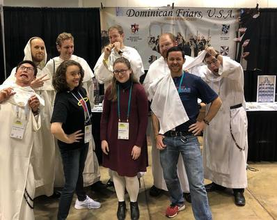 Dominican Friars at SEEK 2019