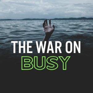 You're Too Busy to Work for God (27th Sunday in OT, October 6, 2019)
