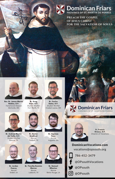 Dominican Vocation Poster