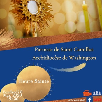 Holy Hour/Adoration in French