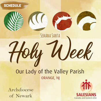 Holy Week Schedule / Horario de Semana Santa