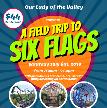 Six Flags Outing