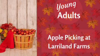 Young Adults Apple Picking