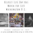 Respect Life Day Bus to the March for Life, Washington D.C.