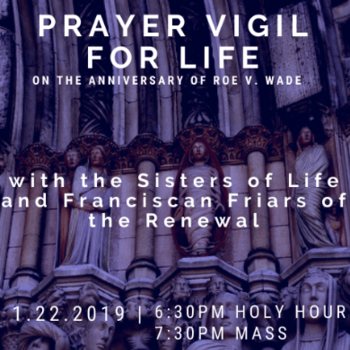 Prayer Vigil for Life - St. Patrick's Cathedral