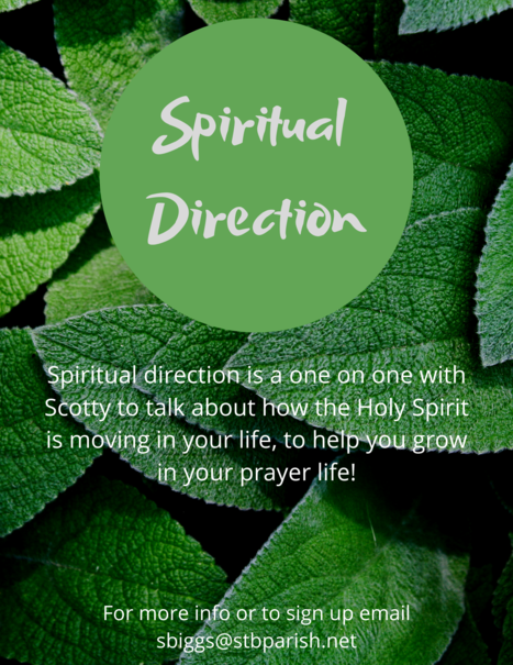 Spiritual Direction Zoom Link