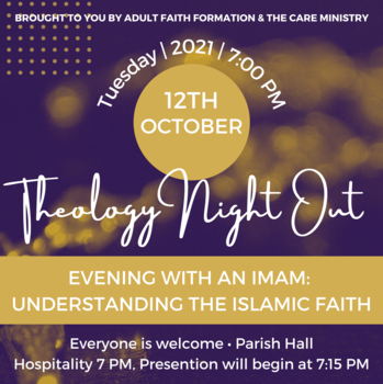 Theology Night Out Presents: Evening with an Imam