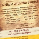A Night with the Saints