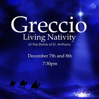 Greccio Living Nativity