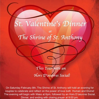 St. Valentine's Day Dinner