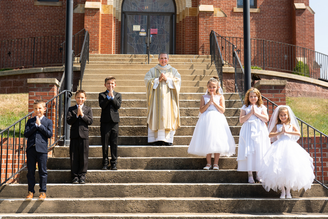 First Holy Communion - July 25, 2020