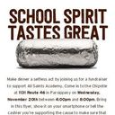 Family Dine Out Night - Chipotle