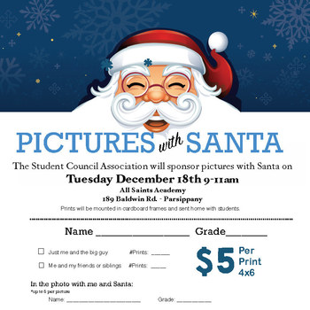 SCA - Pictures with Santa