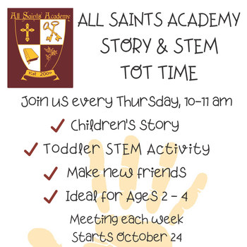 Story and STEM Tot Time