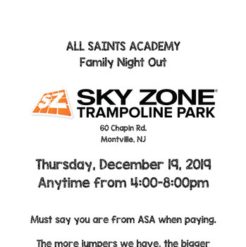Sky Zone - Family Night Out