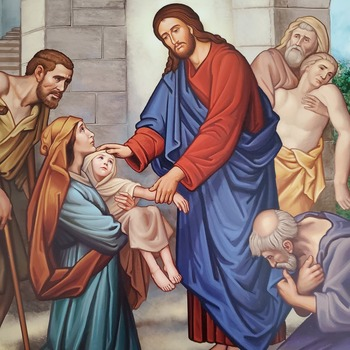 New Icon Blessed for Prayer Ministry