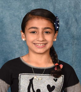 Jenna Mahmood, 5th Grade