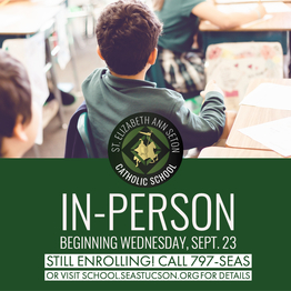 SEAS School is offering both IN-PERSON and online instruction! Call 797-SEAS for details.