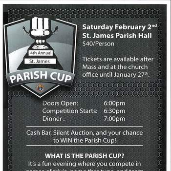 4th Annual Parish Cup