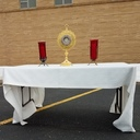 Jesus' healing power in the Eucharist
