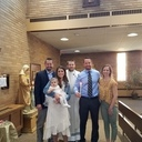 Averleigh Singer baptized at St. Joseph Parish