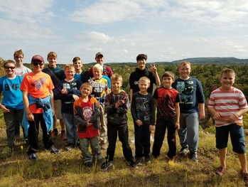 Baraga Youth Fraternity has successful first gathering