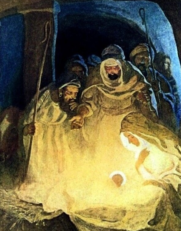 Nativity by Newell Convers Wyeth