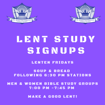Lenten Soup & Bread (Fridays)