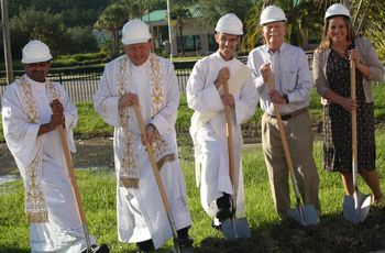 Bell Tower Blessing and Ground-breaking Ceremony