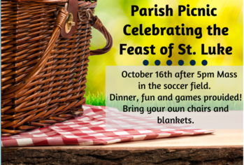 Parish Picnic and Service Opportunity