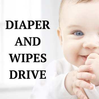 Diaper and Wipes Drive
