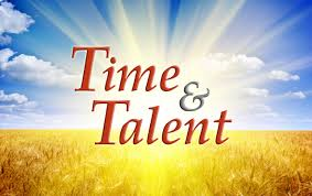 Time and Talent: Thank You!!