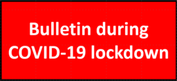 Bulletin during COVID-19 lockdown