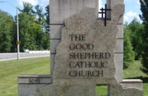 Good Shepherd Parish Sign