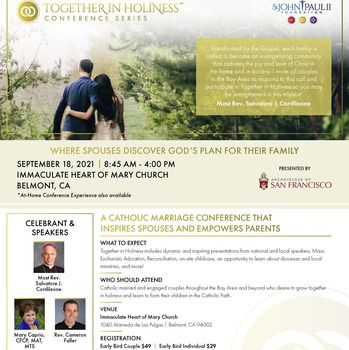 TOGETHER IN HOLINESS CONFERENCE
