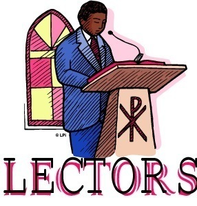 NEW and CURRENT Lector Ministers