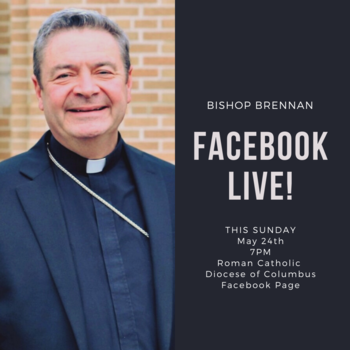 Bishop Brennan on Facebook Live