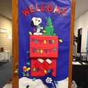 Our annual Christmas door decorating contest