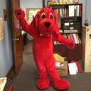 Clifford came to visit!