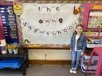 Happy 50th Day of School!