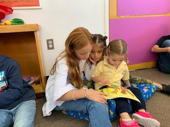 PreK 3 and Third Grade Reading Buddies