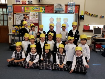 Kindergarten celebrates Three Kings Day