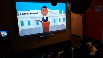Pre-K 4B learns about Dr. Martin Luther King Jr.