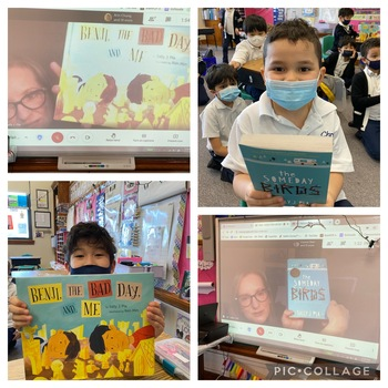Literacy Month Author Visit