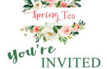 Spring Tea for the Consecrated