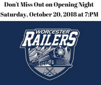 Worcester Railers - Opening Night