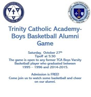Trinity Catholic Boys Alumni Basketball Game