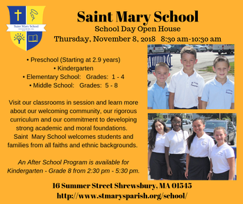 St Mary School - Shrewsbury School Day Open House