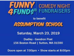 Comedy Night Fundraiser - Assumption Elementary
