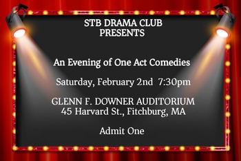 STB Drama Club - AN EVENING OF ONE ACT COMEDIES